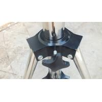 Quality 2m Height Black Follow Spot Stand For Hanging Audio , Lighting Truss Stands For Concert for sale