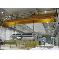 Electromagnetic Double Beam Bridge Crane With Magnet Lift Chunk  / Spreader Manufactures