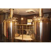 2000L stainless steel beer brewing equipment with steam heating Manufactures
