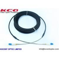 LC Armored CPRI Army Field Fibre Optic Patch Cable FTTA Outdoor 2fo 4 Fiber 6 Core 7.0mm TPU Manufactures