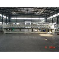 China Professional 18 Heads Flat Embroidery Machine / Emb Machine For Business  on sale