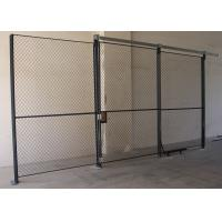 High Performance Wire Mesh Partition Panels Sliding Wire Mesh Sliding Door Manufactures