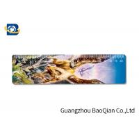 China Cute / Fancy Printing 3D Lenticular Ruler , Plastic Flexible Ruler Customized Shape on sale