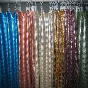 High Grade Aluminum Sequins Fabric Mesh Cloth Manufactures