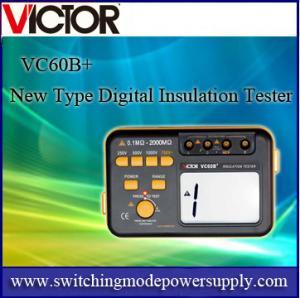 VC60B+ New Type Digital Insulation Tester