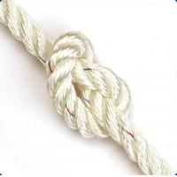 dia 5mm-38mm white or colors nylon 3-strand twsit cord from AA rope factory Manufactures