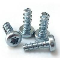 High Accuracy Steel Zinc Flat Head Screw Mild Steel Material 4.8 Grade ISO 7046.1 Manufactures