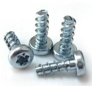 High Accuracy Steel Zinc Flat Head Screw Mild Steel Material 4.8 Grade ISO 7046.1 Manufactures