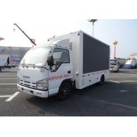 ISUZU Outdoor Digital Advertising Billboard Truck With P6 LED Display Screen Manufactures