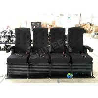 80 People Motion Chair 4D Theatre Equipment Dynamic System For Shopping Mall Manufactures