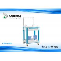 Buy cheap Professional Hospital Medication Carts Equipment , Stainless Steel Medical Cart With Drawer from wholesalers