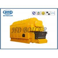 Industrial Coal / Wood Fired Biomass Fuel Boiler , Wood Chip Steam Boiler Manufactures