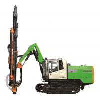 Open Cast Mining Borehole Drilling Rig , Stone Quarry Dth Borewell Machine Manufactures