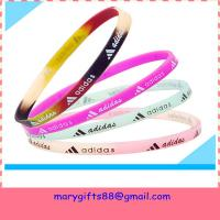 free design thin baseball silicone bracelets Manufactures