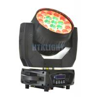 China Indoor IP20 19 X 15W RGBW Stage Moving Head Light For Clubs , Parties on sale