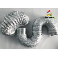 Collapsible Fireproof Aluminum Flexible Duct For Range Hood Ventilation Manufactures