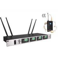 One with four Wireless Meeting Room Microphone System Adopt CPU Control SR-6004 Manufactures