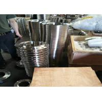 306 / 304 Stee Grade Stainless Steel Flanges , Orifice Steel Blind Flange Cold Drawing for sale