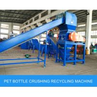 Mineral Bottle / Post Consumer Bottle Pet Bottle Washing Recycling Line Big Capacity Manufactures