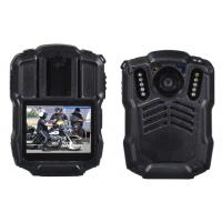 128GB 4G Body Worn Camera Police Body Worn Video Camera , Black Manufactures
