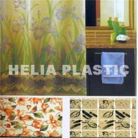 China PVC shower curtain on sale