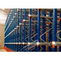 Conventional Drive In Racking , Homogeneous Products Drive Through Pallet Racking Manufactures