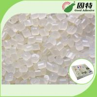 Light Yellow Granule EVA And Viscosity Resin Hot Melt Adhesive For Papers Fixation Of Flat Back Album Manufactures