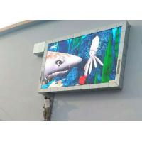 HD Outdoor LED Video Displays , P10 DIP346 Digital Billboard Advertising for DOOH Manufactures