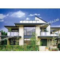 China Prefab House Light Steel Villa Metal Buildings With Welded Frame Easy Construction on sale