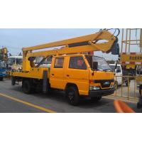 Knuckle Booms / Truck Boom Lift For Reaching Up And Over Machinery Manufactures