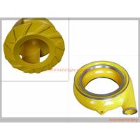 Red Yellow Color Horizontal Slurry Pump Parts Of Centrifugal Pump Long Lifespan Manufactures