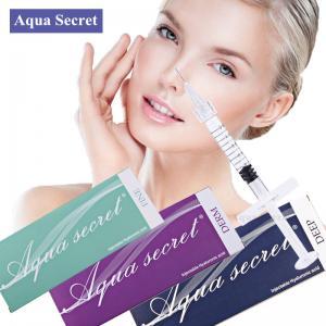Aqua Secret CE ISO Certified Hyaluronic Acid Dermal Filler Manufactures