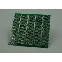 Double Sided Prototype PCB Fabrication Gold Plating Finish Green Solder Manufactures