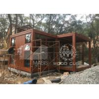 Customized Size Prefab Tiny House With Galvanized Q550 Light Steel Frame Manufactures