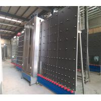 Low - e Vertical glass washer Machine with Tilting Table , double glazing machinery Manufactures