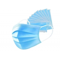 Daily Wearing Face Nonwoven Disposable 3 Ply Earloop Mask Manufactures