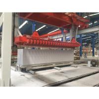 Heavy Duty AAC Block Making Machine , Automatic Brick Block Making Machine Manufactures