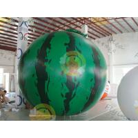 Quality Inflatable product balloon, 4m Watermelon 0.28mm helium quality PVC Advertising Helium BalloonsBAL-35 for sale