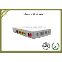 FTTH GPON ONT Router Network Media Converter 4GE 4 LAN PORTS WIFI For Networking Service Manufactures