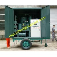China Mobile Vacuum Transformer Oil Filtration Machine,insulation oil filter unit Single-axle Trailer & weather-proof Type on sale