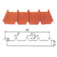 Firproof rock wool composite roofing panels for villa / warehouse / cabin / hospital Manufactures