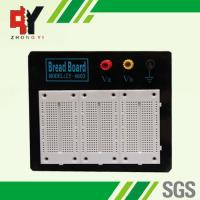 Stainless Steel White Experimental Electronics Breadboard Black Alum Plate Manufactures