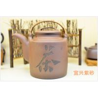 Purple Grit Antique Yixing Teapot , Yi Shing Teapot SGS Certification 1000ML Manufactures