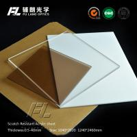 China Electronic Equipment Panel Acrylic Perspex Sheet , 10mm Clear Acrylic Sheets For Windows on sale