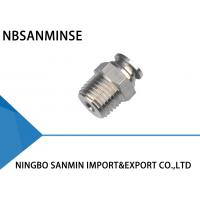 SSPC SS316L Stainless Steel Air Fittings , Air Compressor Hose Fittings Manufactures