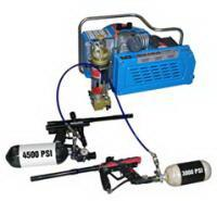 3.0kw 4hp electric powered scuba air compressor , 20 minutes for 6L tank Manufactures