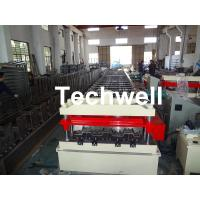 Cr12 Automatic Galvanized Steel Sheet Floor Deck Roll Forming Machine PLC frequency control Manufactures