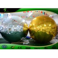 Outdoor Super Inflatable Mirror Ball / Mirror Polished Decorative Ball For Advertising Manufactures