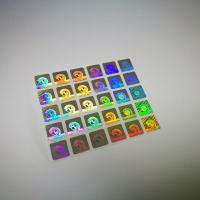 China Authentication Laser Sticker Transparent Hot Stamping Die Cut Shape on sale
