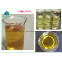 Yellow Mixed Liquid Injectable Anabolic Testosterone Steroids TMT Blend 375 For Fat Loss Cutting Cycle Manufactures